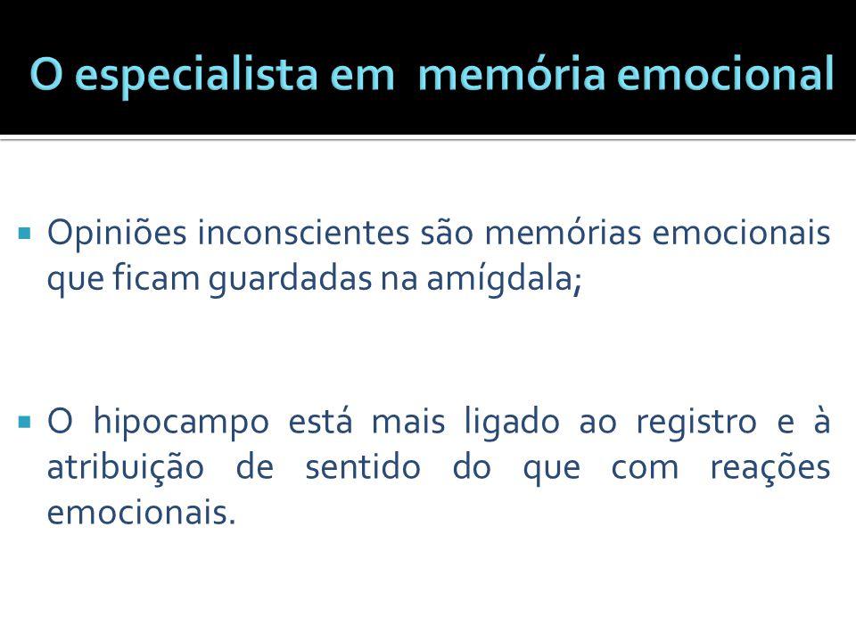 O especialista em memória emocional