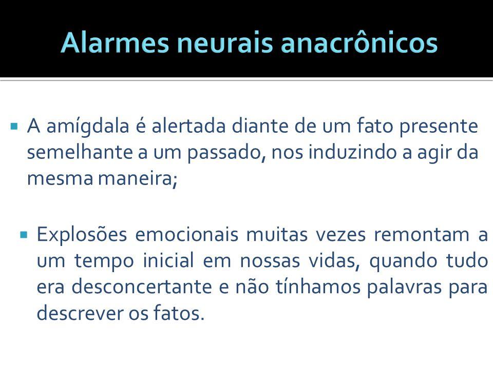 Alarmes neurais anacrônicos