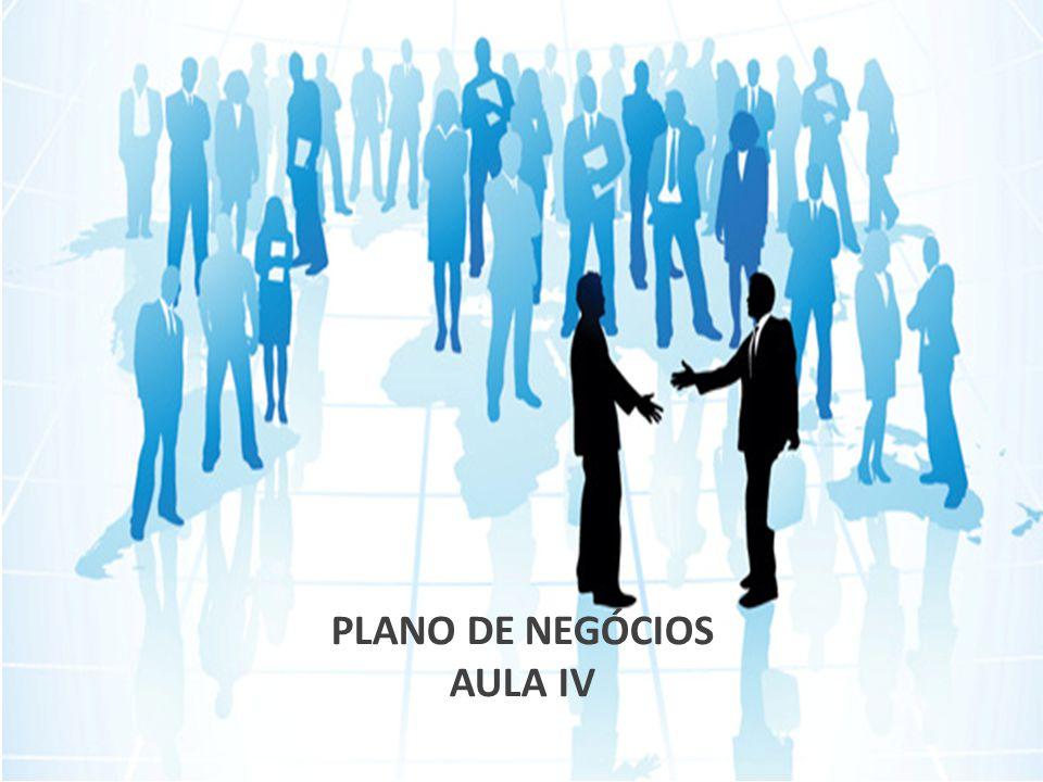 PLANO DE NEGÓCIOS AULA IV