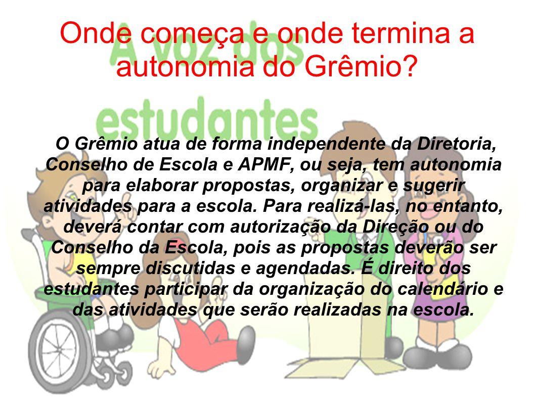 Onde começa e onde termina a autonomia do Grêmio