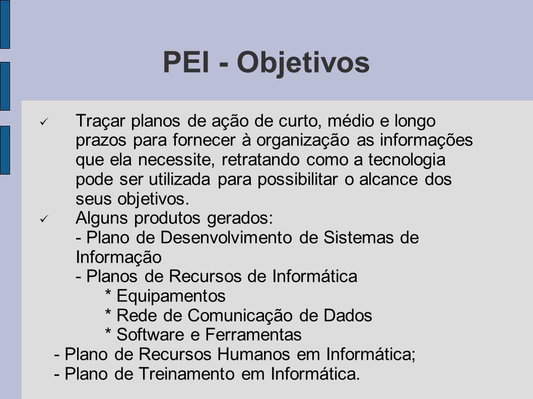PEI - Objetivos
