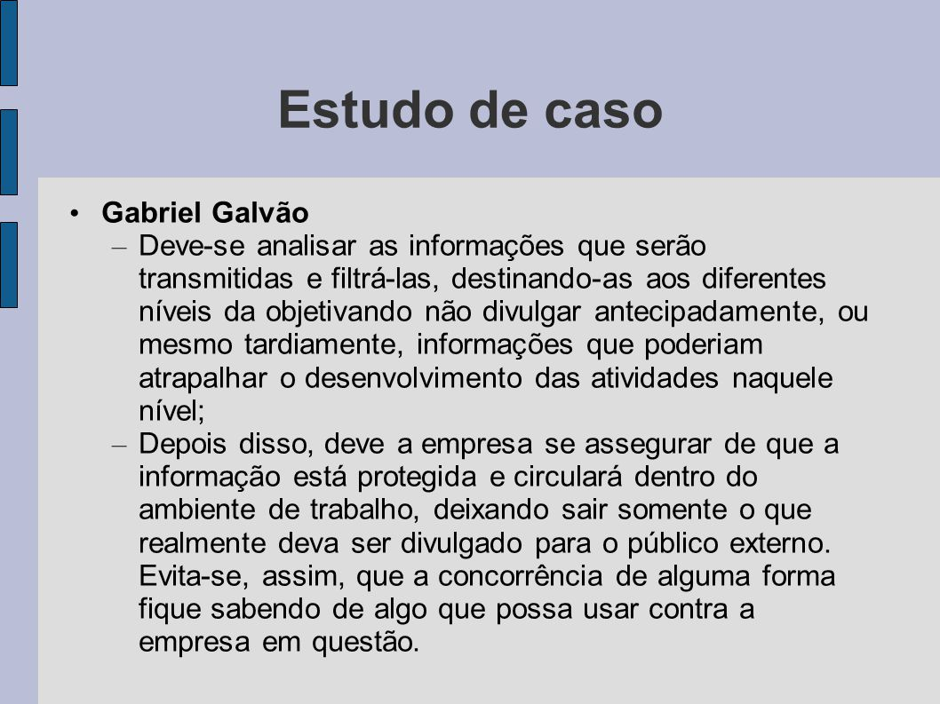 Estudo de caso Gabriel Galvão