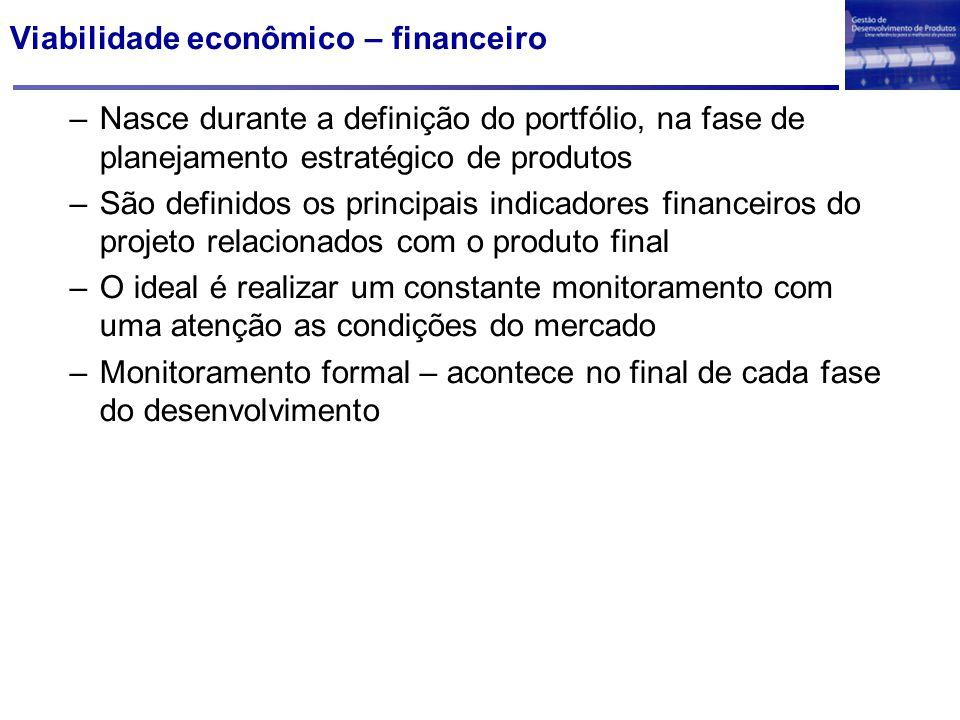 Viabilidade econômico – financeiro