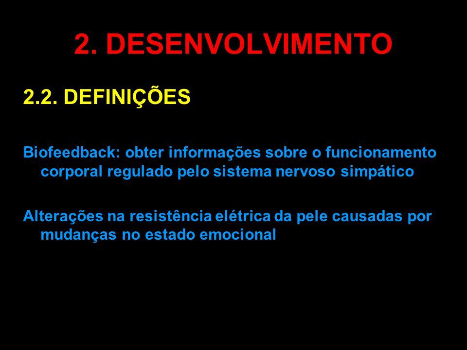 2. DESENVOLVIMENTO 2.2. DEFINIÇÕES