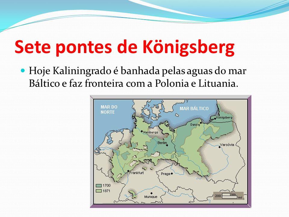 Sete pontes de Königsberg