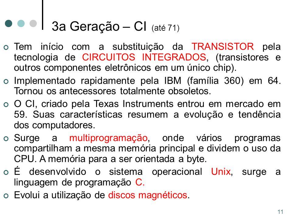 3a Geração – CI (até 71)