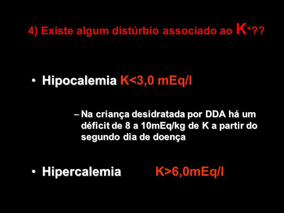 4) Existe algum distúrbio associado ao K+