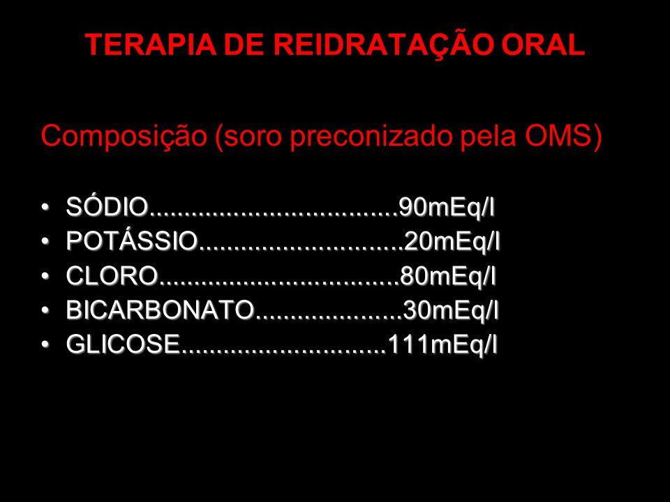 TERAPIA DE REIDRATAÇÃO ORAL