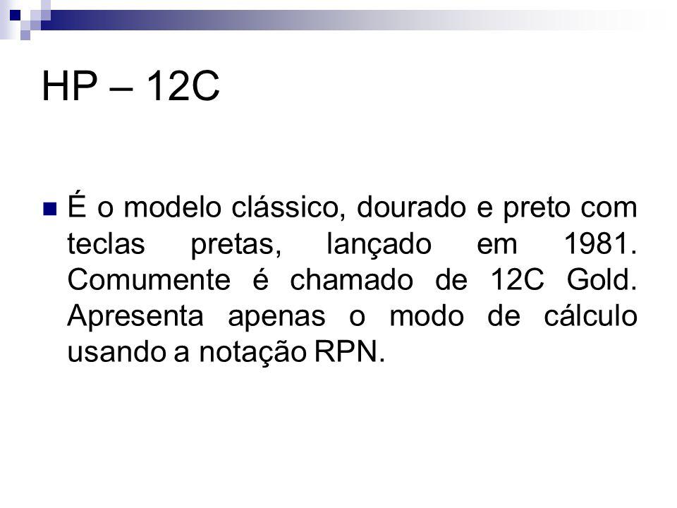 HP – 12C