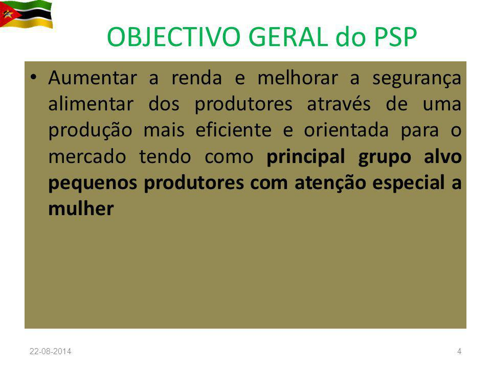 OBJECTIVO GERAL do PSP