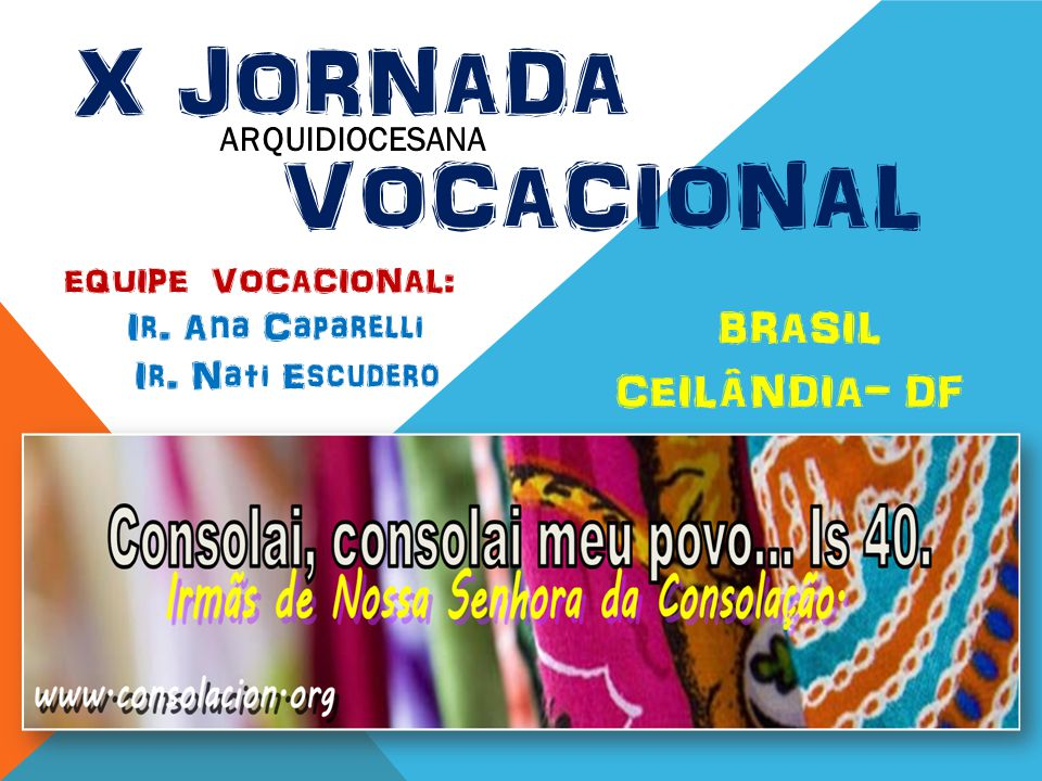 X Jornada Vocacional BRASIL CEILÂNDIA- DF
