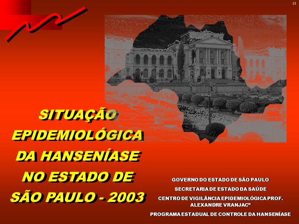 COEFICIENTES DE PREVALÊNCIA DA HANSENÍASE NO ESTADO DE SÃO PAULO, NO PERÍODO 1924 A 2000.