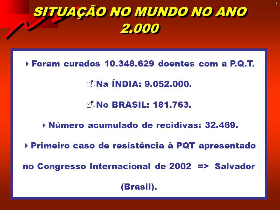SITUAÇÃO EPIDEMIOLÓGICA DA HANSENÍASE NO BRASIL - 2002