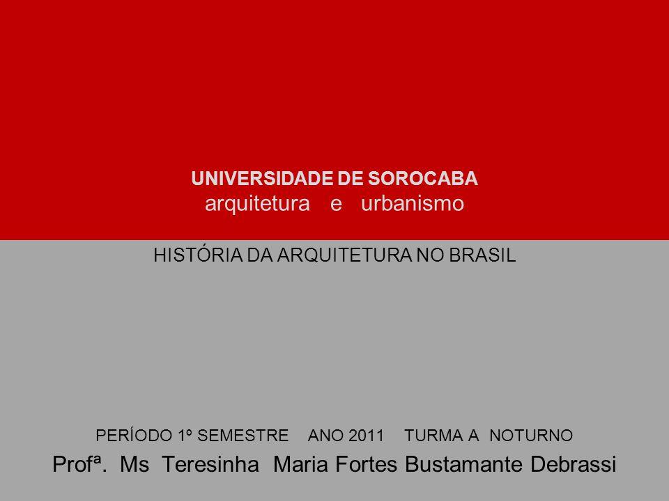 UNIVERSIDADE DE SOROCABA arquitetura e urbanismo