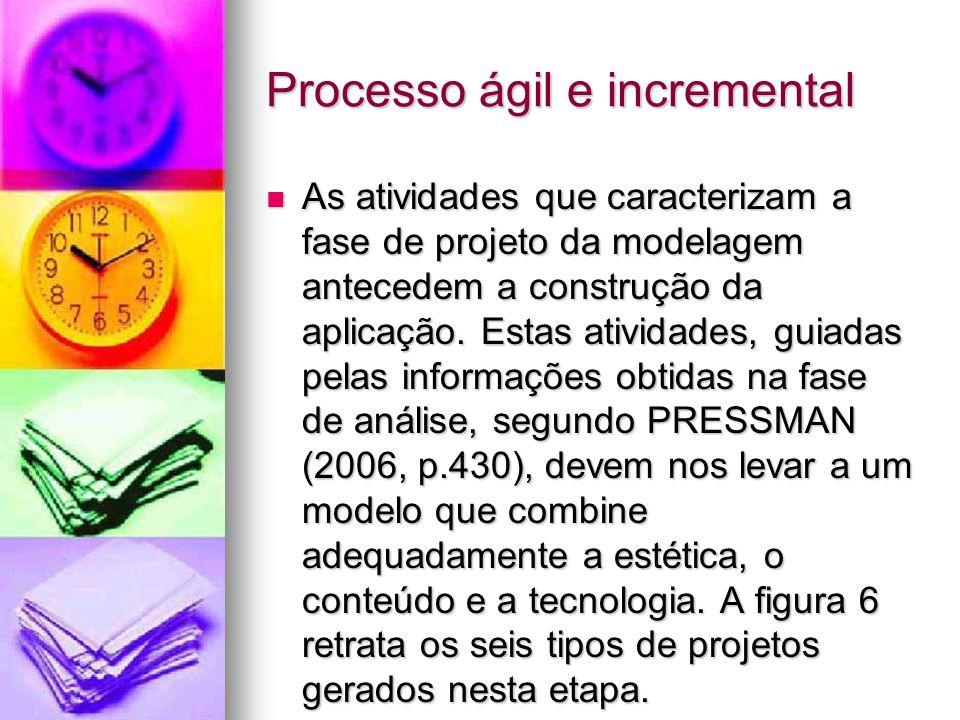 Processo ágil e incremental