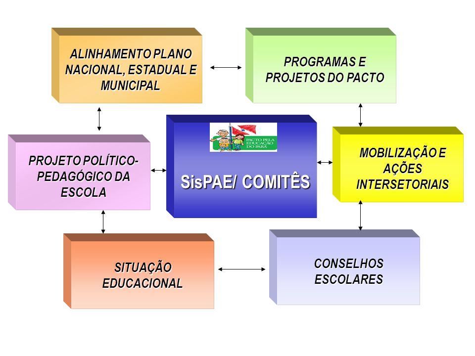 SisPAE/ COMITÊS ALINHAMENTO PLANO NACIONAL, ESTADUAL E