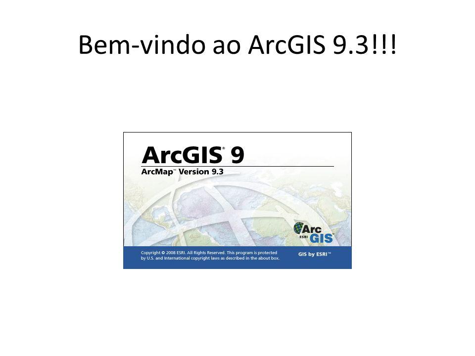 Bem-vindo ao ArcGIS 9.3!!!