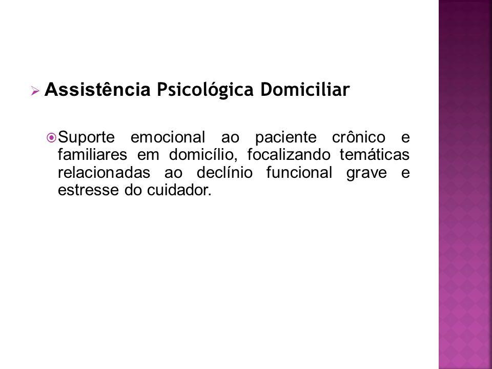 Assistência Psicológica Domiciliar