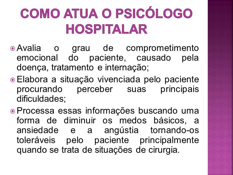 Como atua o psicólogo hospitalar
