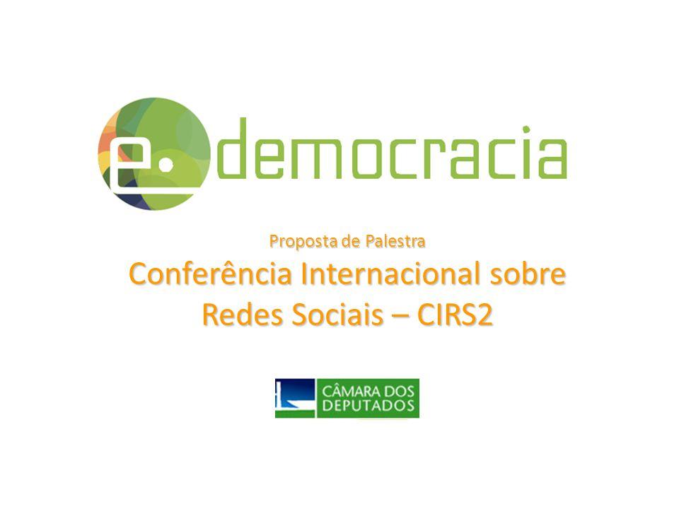 Conferência Internacional sobre Redes Sociais – CIRS2