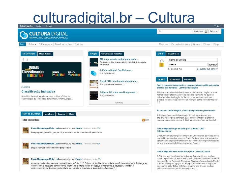 culturadigital.br – Cultura digital