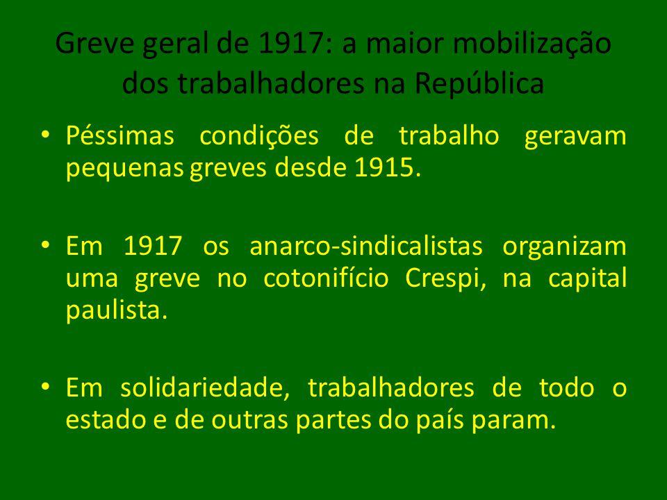 Greve geral de 1917: a maior mobilização dos trabalhadores na República