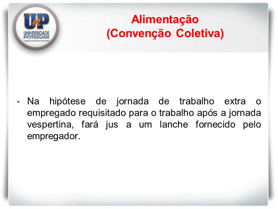 Alimentação (Convenção Coletiva)