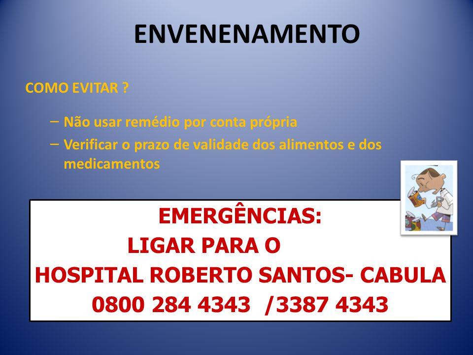 HOSPITAL ROBERTO SANTOS- CABULA
