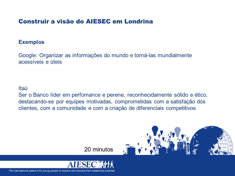 Construir a visão do AIESEC em Londrina
