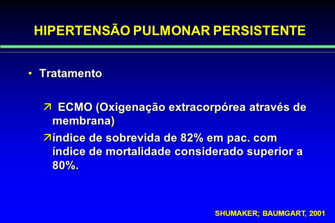 HIPERTENSÃO PULMONAR PERSISTENTE