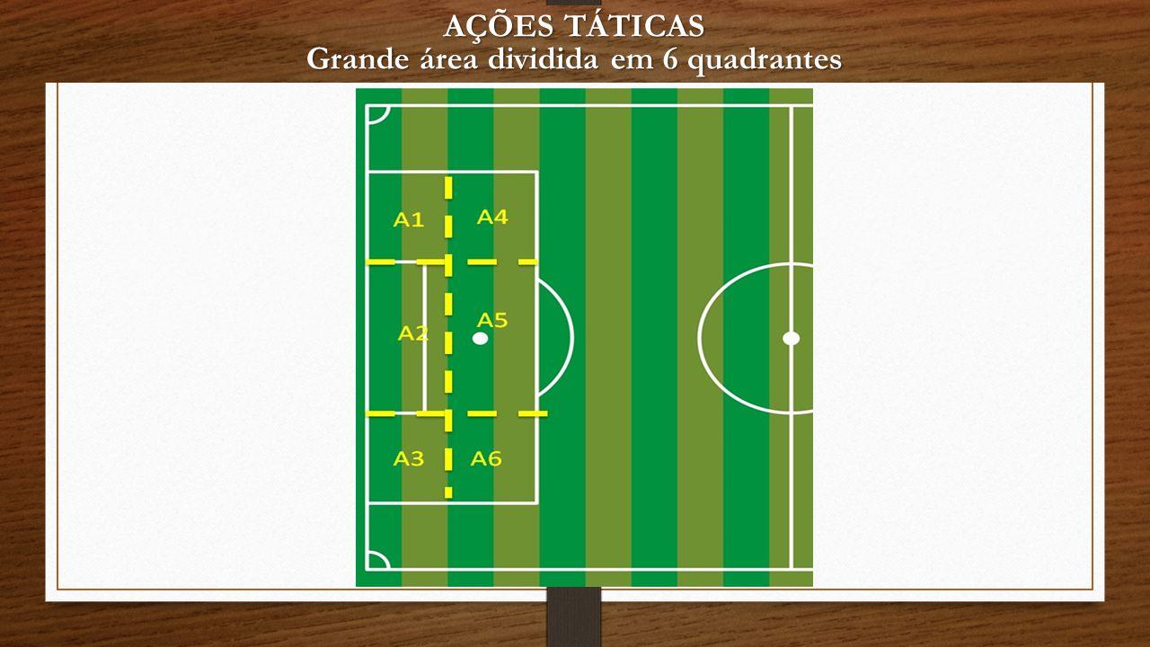 Grande área dividida em 6 quadrantes