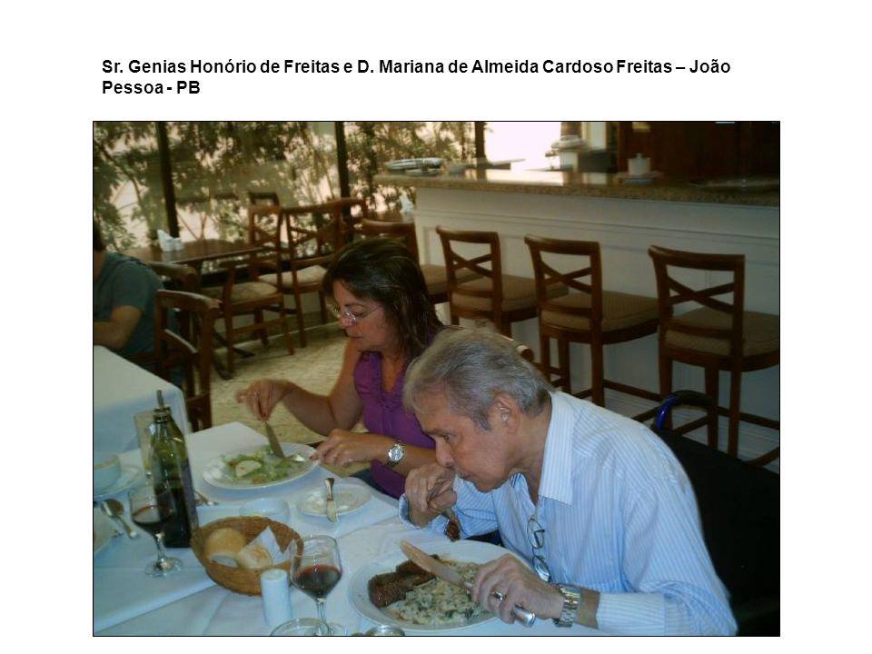 Sr. Genias Honório de Freitas e D