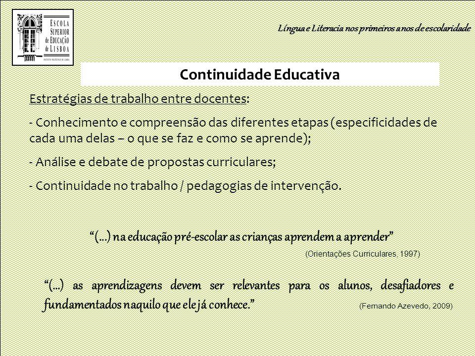 Continuidade Educativa