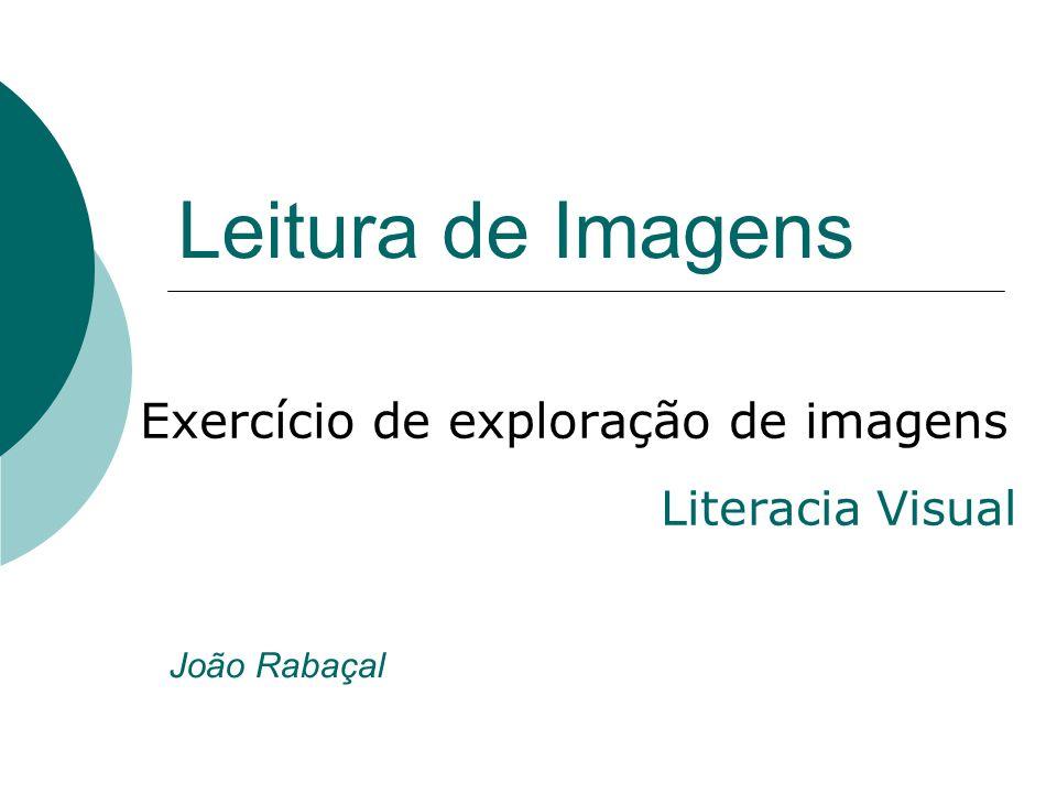 Exercício de exploração de imagens Literacia Visual