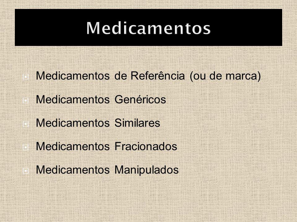 Medicamentos Medicamentos de Referência (ou de marca)