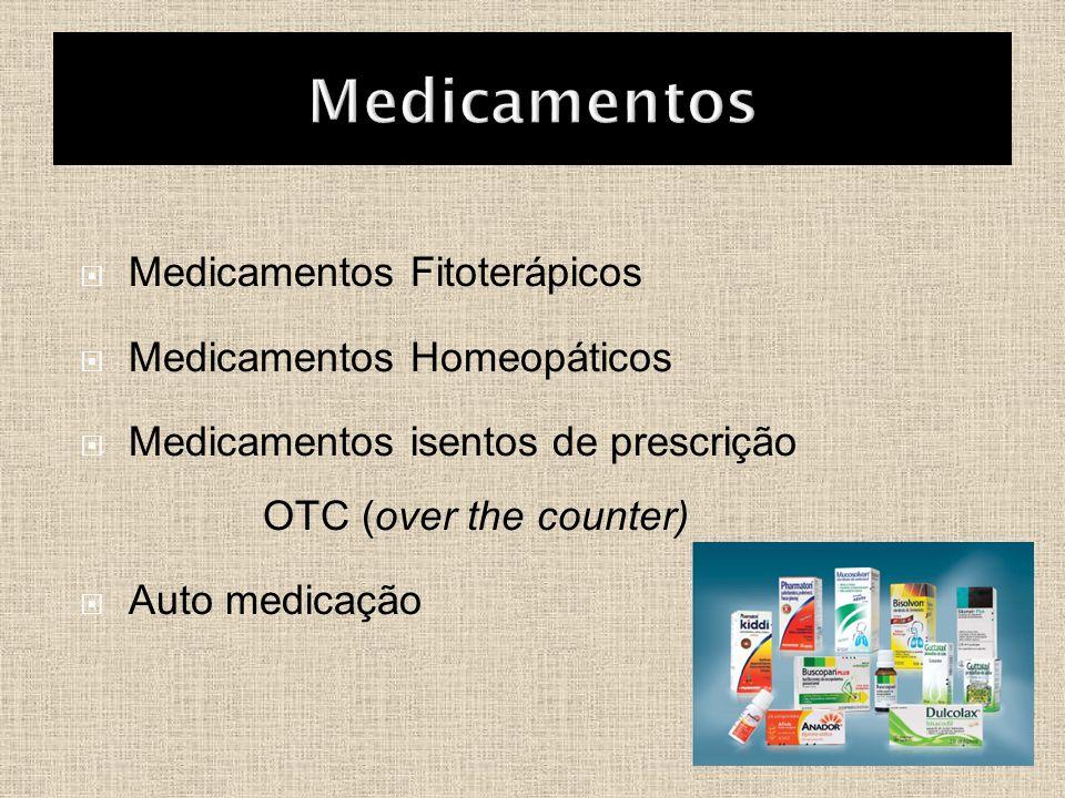 Medicamentos Medicamentos Fitoterápicos Medicamentos Homeopáticos