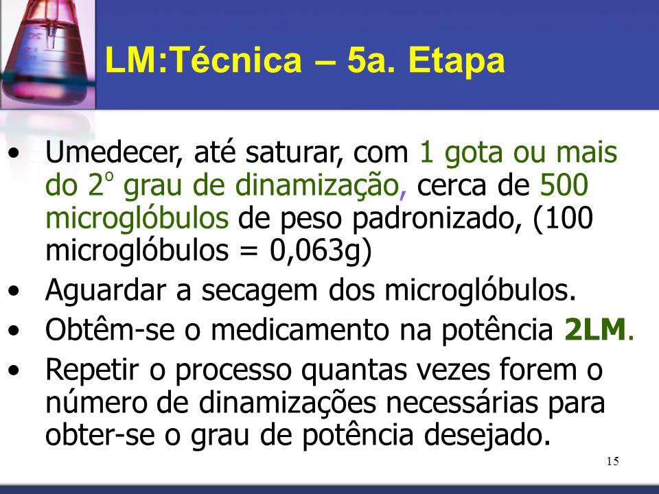 LM:Técnica – 5a. Etapa