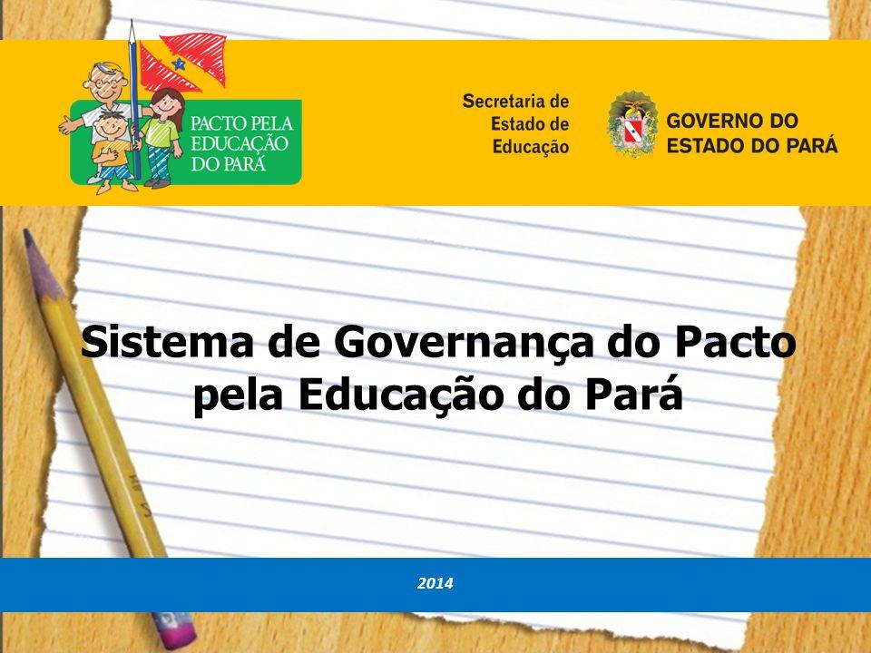 Sistema de Governança do Pacto pela Educação do Pará