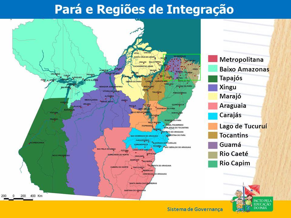 Pará e Regiões de Integração