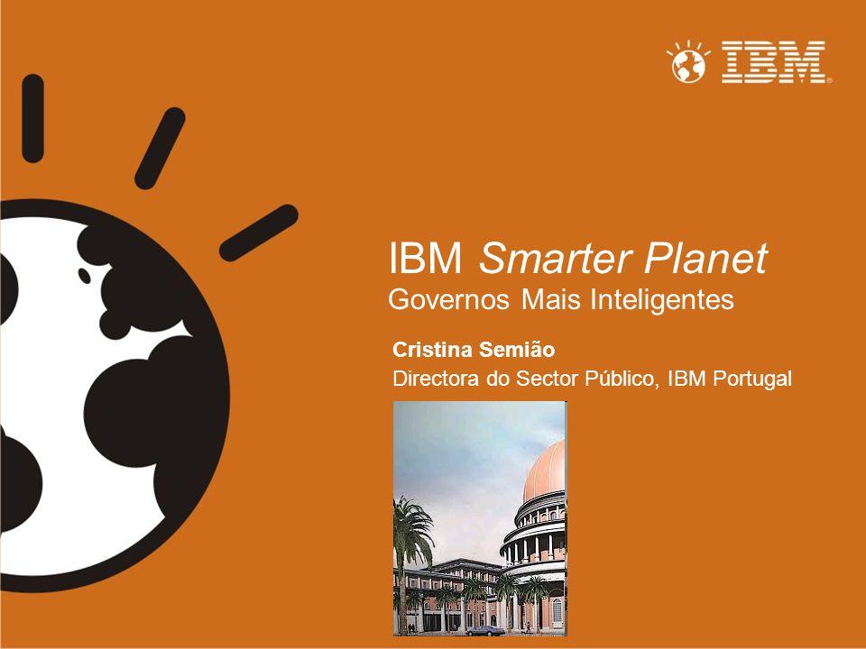 IBM Smarter Planet Governos Mais Inteligentes