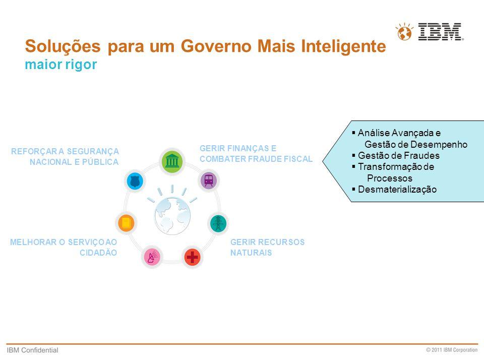 Soluções para um Governo Mais Inteligente maior rigor