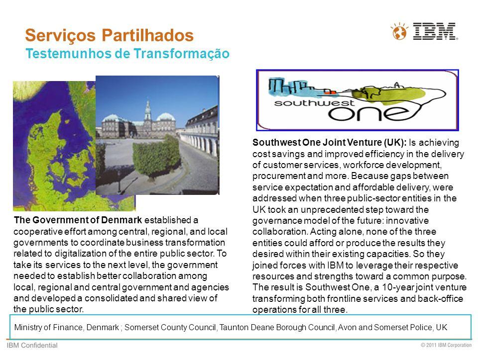 Serviços Partilhados Testemunhos de Transformação