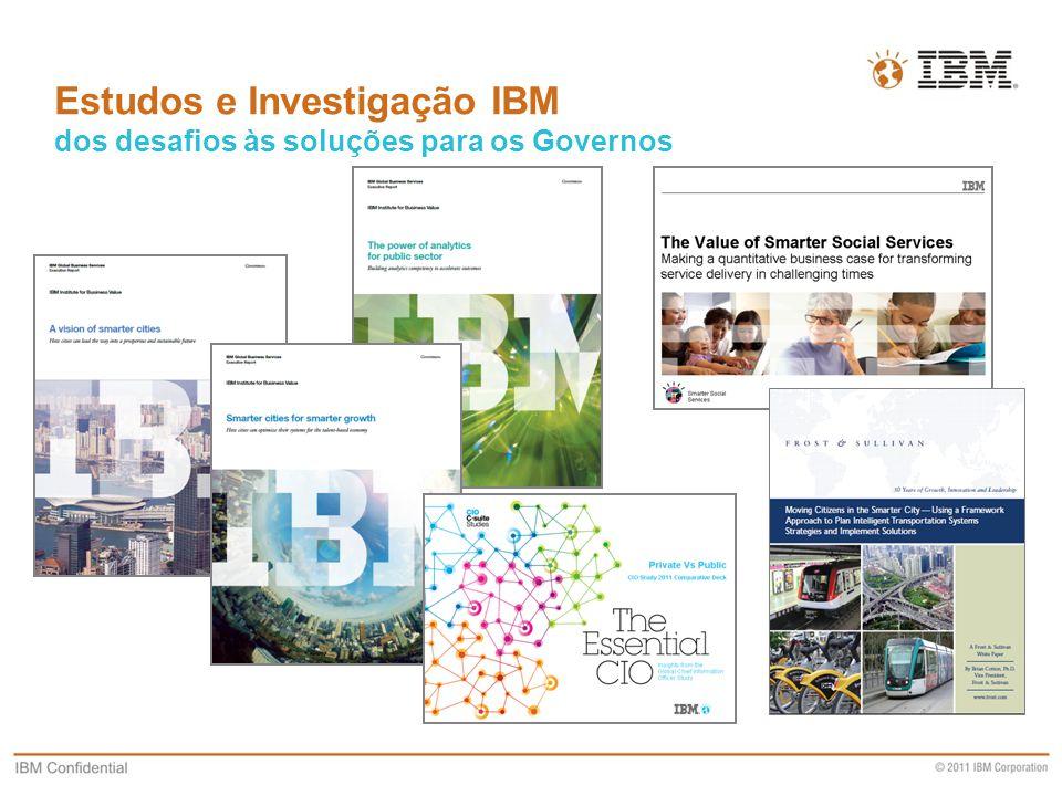 Estudos e Investigação IBM dos desafios às soluções para os Governos