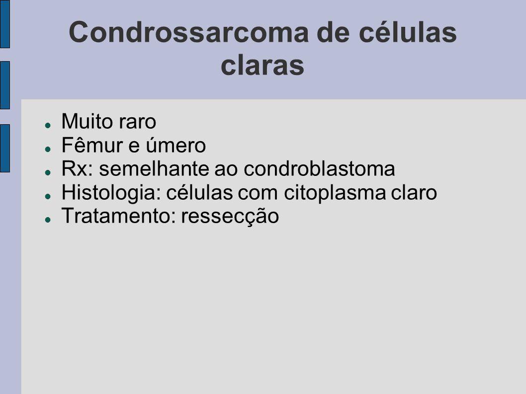 Condrossarcoma de células claras