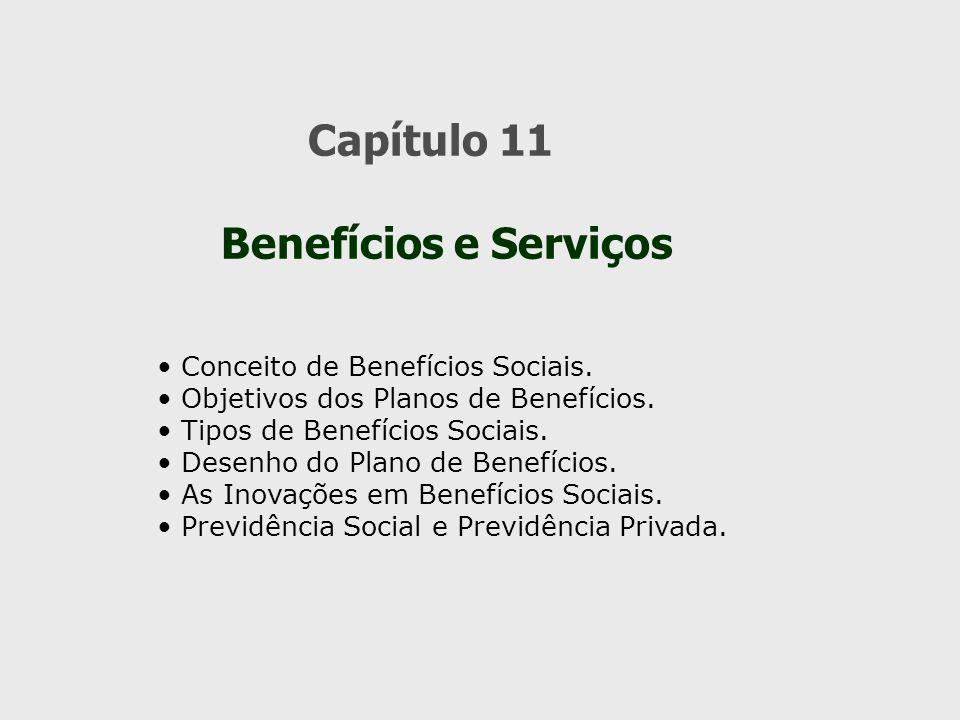 Capítulo 11 Benefícios e Serviços Conceito de Benefícios Sociais.