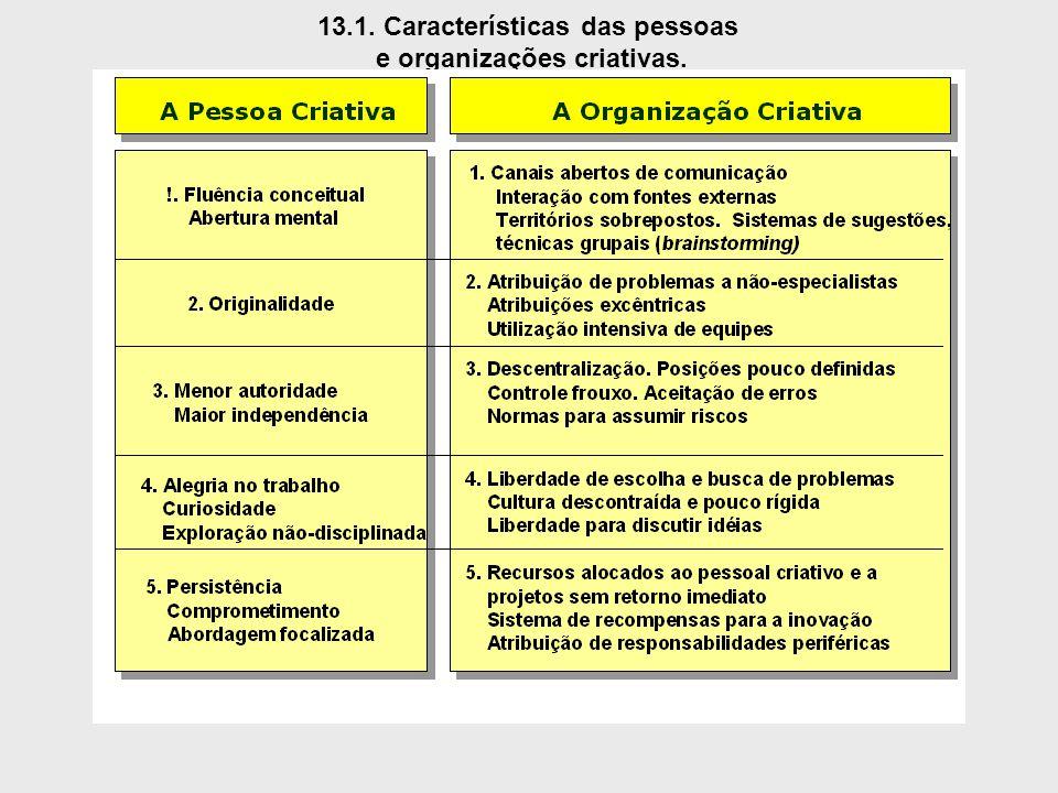 13.1. Características das pessoas