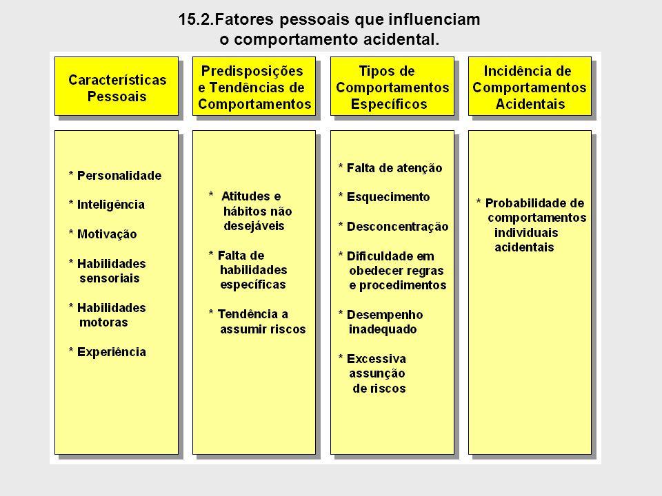 15.2.Fatores pessoais que influenciam