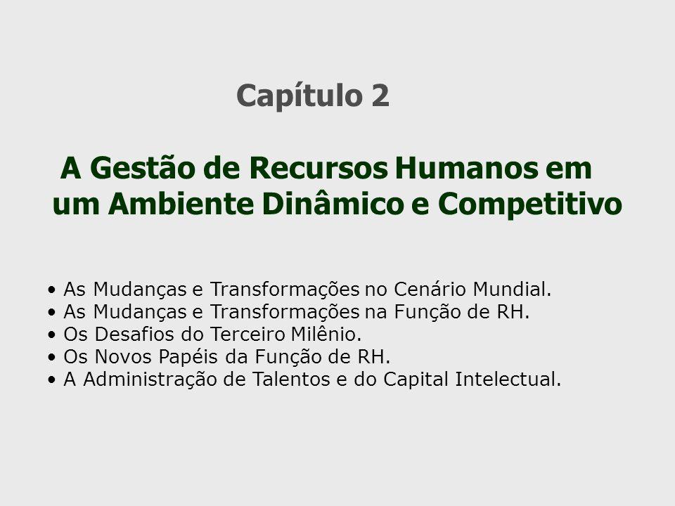 A Gestão de Recursos Humanos em um Ambiente Dinâmico e Competitivo