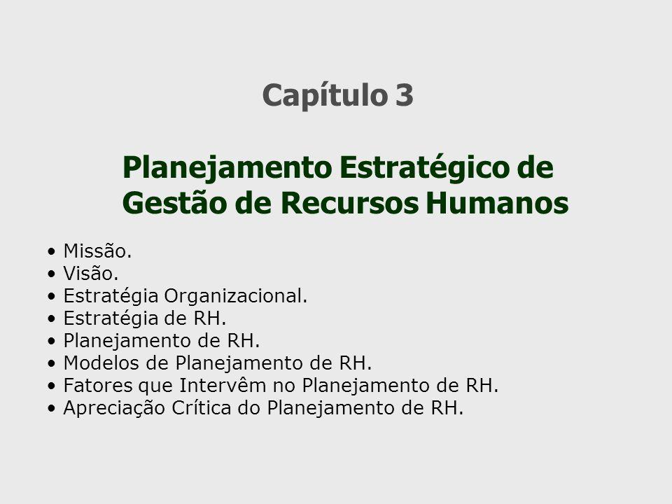 Planejamento Estratégico de Gestão de Recursos Humanos