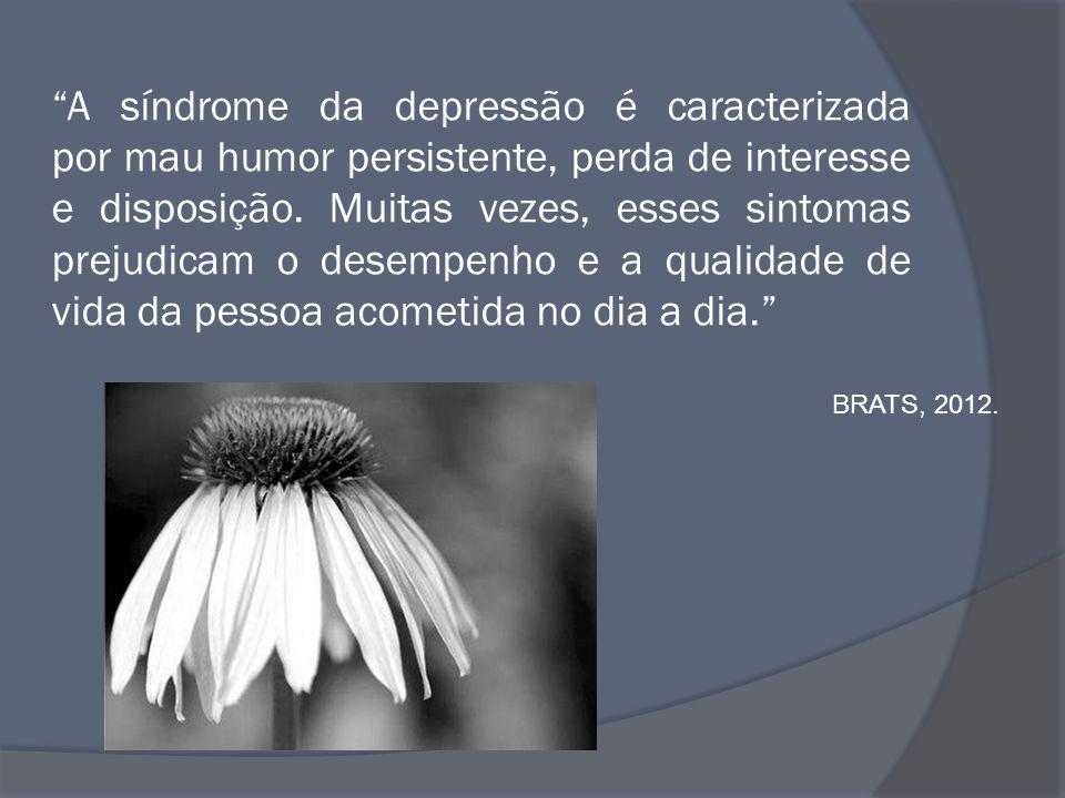 A síndrome da depressão é caracterizada por mau humor persistente, perda de interesse e disposição. Muitas vezes, esses sintomas prejudicam o desempenho e a qualidade de vida da pessoa acometida no dia a dia.